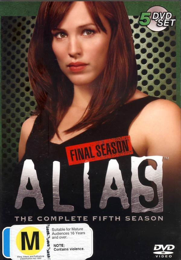 Alias - Complete Season 5: Final Season (5 Disc Set) on DVD image