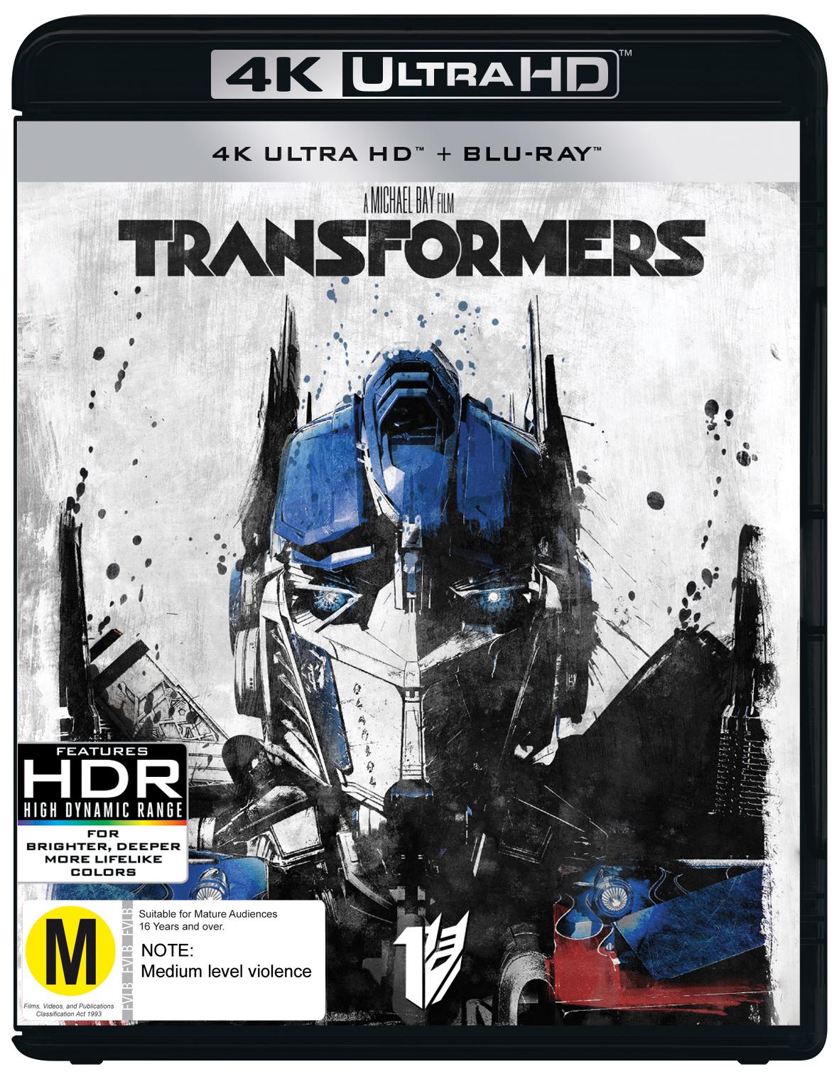 Transformers on UHD Blu-ray image