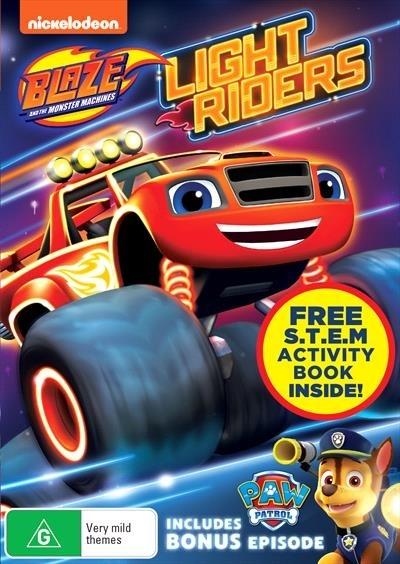 Blaze & The Monster Machines: Light Riders on DVD