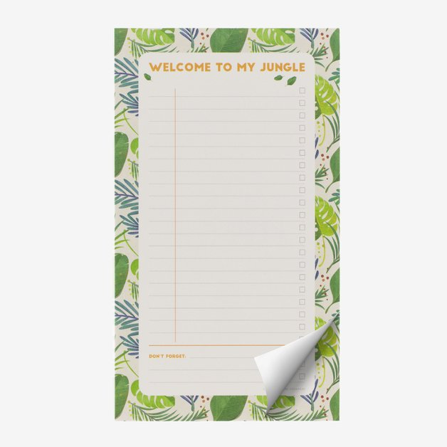 Legami: Paper Thoughts Notepad - Jungle