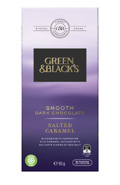 Green & Black's Smooth Dark Chocolate - Salted Caramel (90g)
