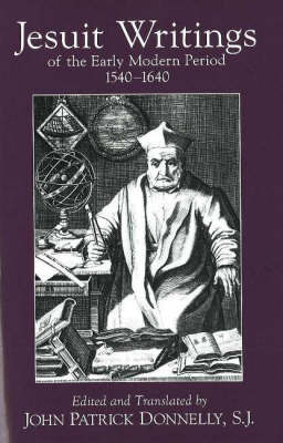 Jesuit Writings of the Early Modern Period image