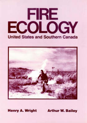 Fire Ecology by Henry A. Wright image