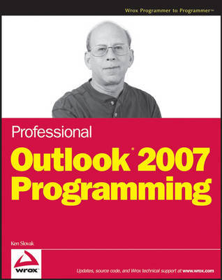 Professional Outlook 2007 Programming by Ken Slovak image