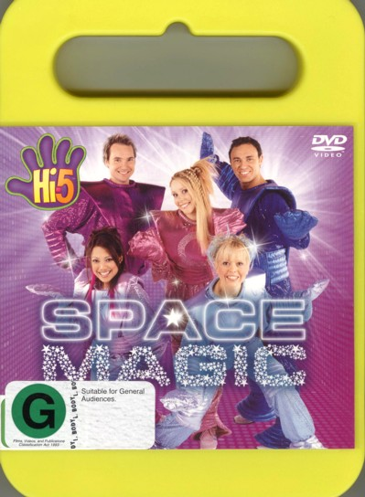 Hi-5 - Space Magic on DVD image