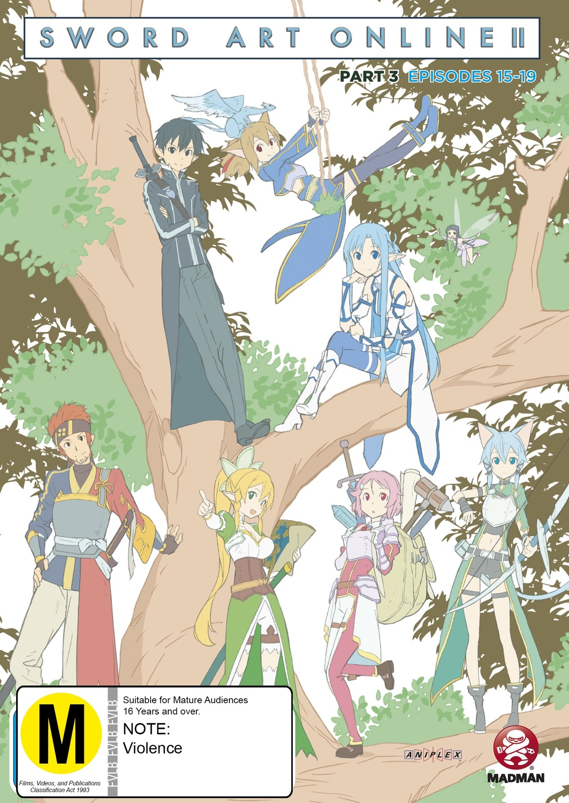 Sword Art Online 2 - Part 3 on DVD image