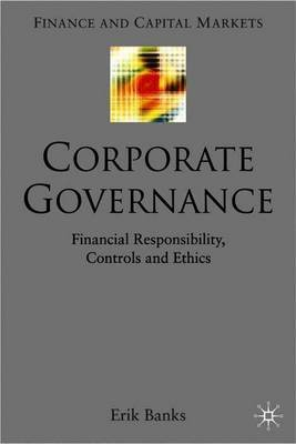 The Insider's View on Corporate Governance by E. Banks image