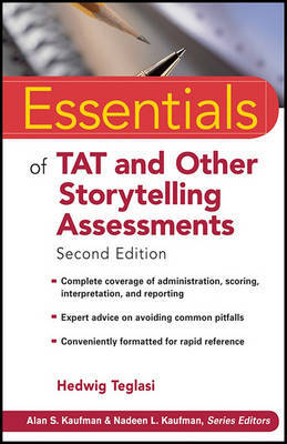 Essentials of TAT and Other Storytelling Assessments by Hedwig Teglasi
