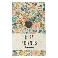 Best Friends Forever Heart Necklace