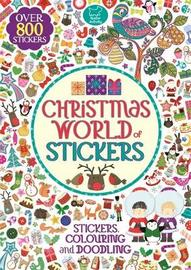 Christmas World of Stickers by Rachel Cloyne