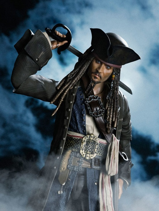 Pirates of the Caribbean: Captain Jack Sparrow - S.H.Figuarts Figure