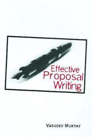 Effective Proposal Writing by Vasudev Murthy image