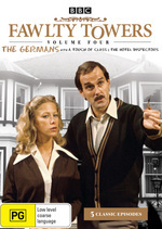 Fawlty Towers - Vol. 4: The Germans on DVD