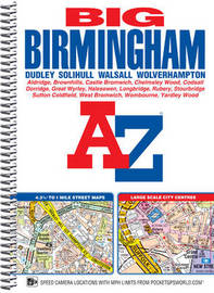 Big Birmingham Street Atlas by Geographers A-Z Map Company