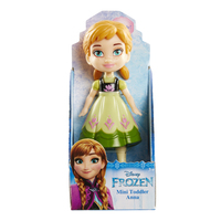 Disney Princess: My First Mini Toddler Doll - Anna (Green Dress)