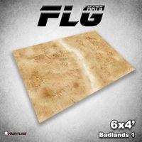 FLG Badlands 1 Neoprene Gaming Mat (6x4)