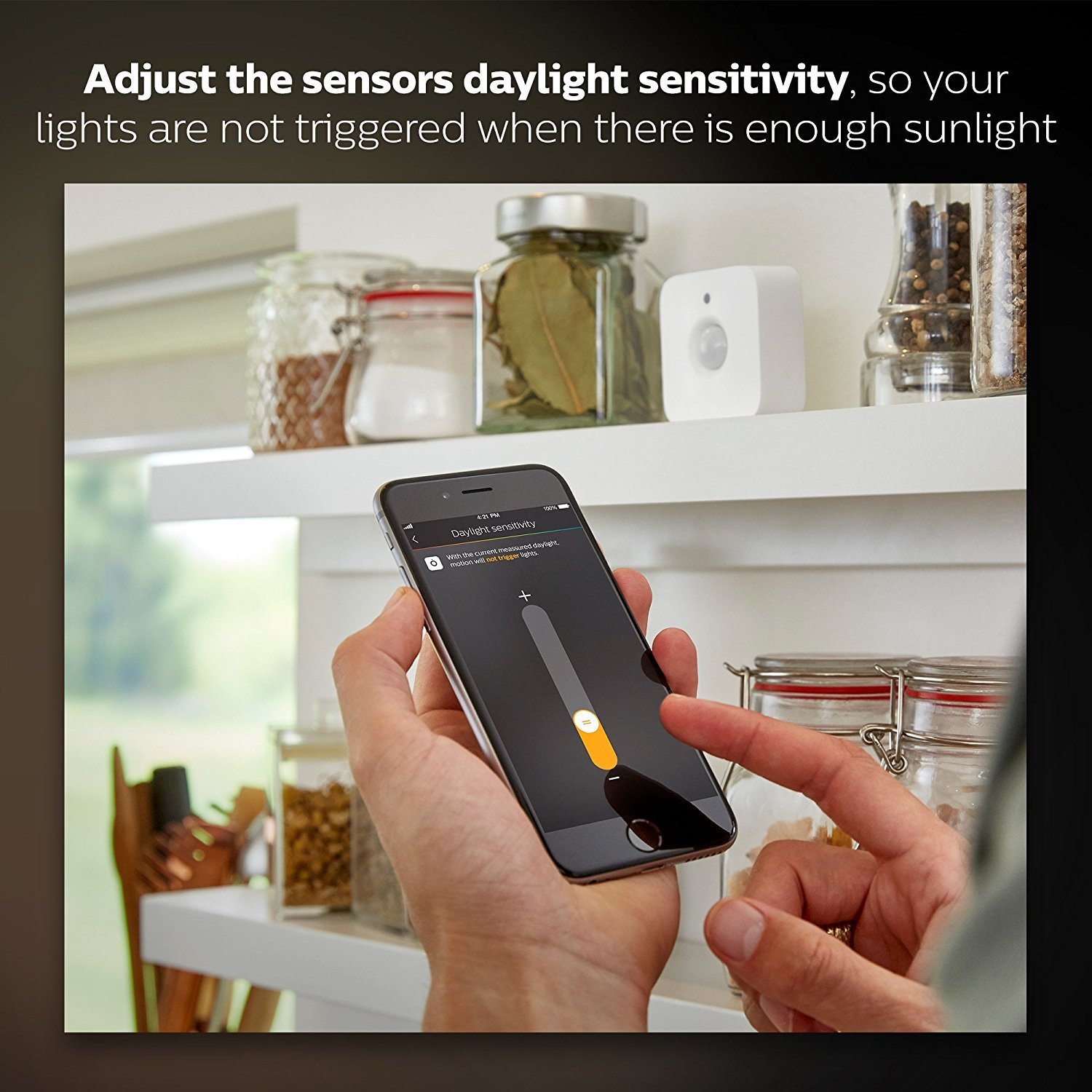 Philips Hue Motion Sensor image