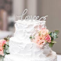Wedding Cake Topper - Love