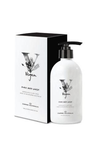 Empire Vegan: Geranium & Clary Sage Body Wash (500ml)