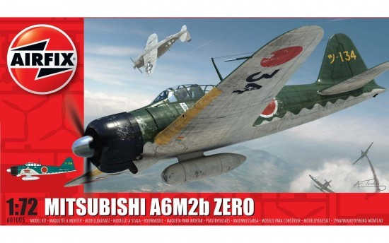Airfix Mitsubishi A6M2b Zero 1:72 Model Kit