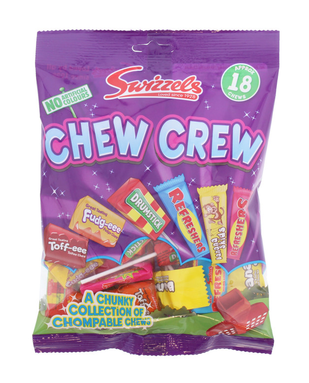 Swizzels: Chew Crew (80g) 12pk