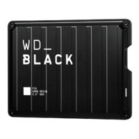 2TB WD Black P10 Game Drive for PS4, Xbox One, PC & Mac for
