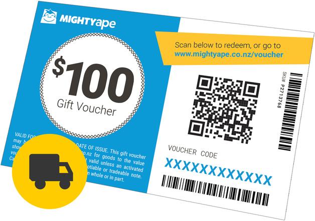 Mighty Ape $100 Gift Voucher