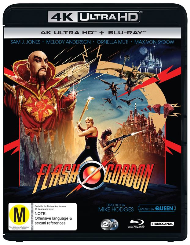 Classics Remastered: Flash Gordon (1980) on UHD Blu-ray