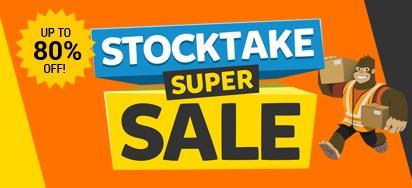 Stocktake Super Sale