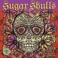 Sugar Skulls 2018 Mini Wall Calendar by Amber Lotus Publishing