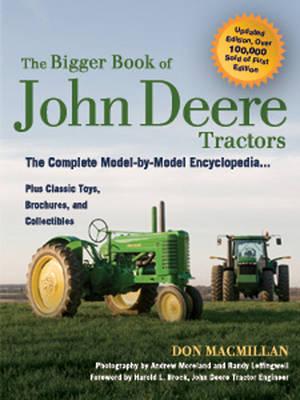 The Bigger Book of John Deere Tractors by Don MacMillan image