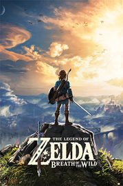 The Legend Of Zelda: Breath Of The Wild Sunset - Maxi Poster (687)