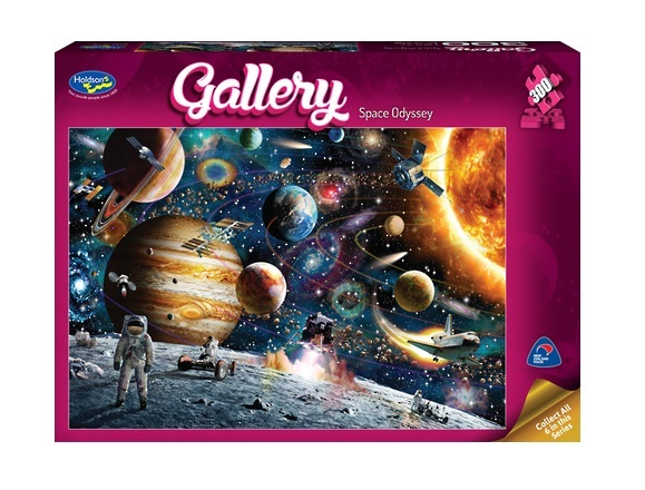 Holdson: 300pce Gallery Series 4 XL Puzzle (Space Odyssey)
