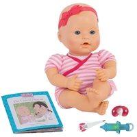"""Baby Sweetheart: Medical Time - 12"""" Baby with Book"""