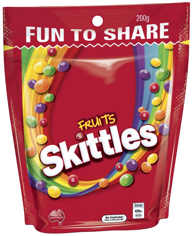 Skittles Fruits (200g)