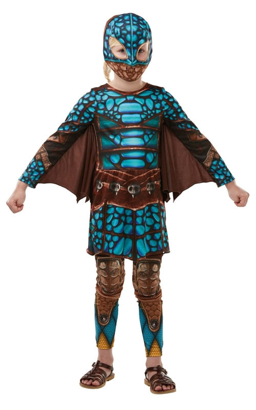 How to Train Your Dragon 3: Astrid Battlesuit - Children's Costume (Small)
