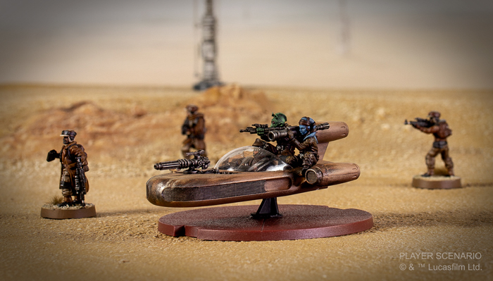 Star Wars Legion: Landspeeder Unit Expansion image
