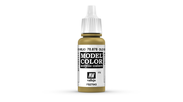 Vallejo Model Colour Old Gold 17ml