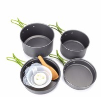Outdoor Camping Kitchen Cook Set - 9 Piece image