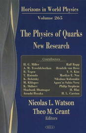 Physics of Quarks by Nicolas L. Watson image