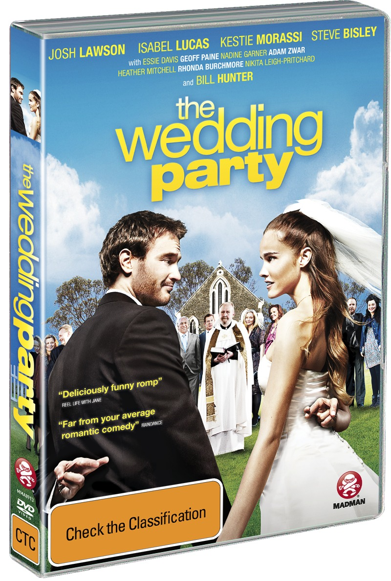 The Wedding Party on DVD image