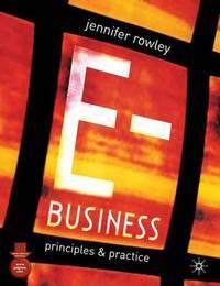 E-Business by Jennifer Rowley image