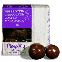 Pimp My Nuts WPI Chocolate Coated Snacks - Chocolate Macadamia (80g)