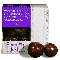 Pimp My Nuts WPI Chocolate Coated Snacks - Chocolate Macadamia (80g)