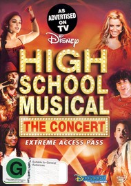 High School Musical - The Concert on  image