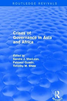 Crises of Governance in Asia and Africa by Sandra J. MacLean image