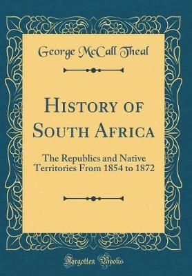 History of South Africa by George McCall Theal image