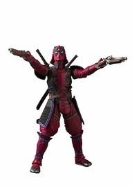 Meisho Manga Realization Kabukimono Deadpool - Action Figure