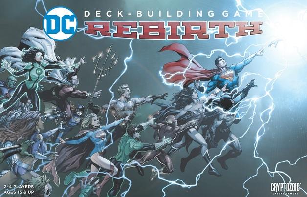 DC Comics: Deck Building Game - Rebirth