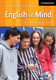 English in Mind Starter Student's Book by Herbert Puchta image